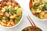 طبق الدجاج مع الخضار وصفة تايلندية