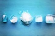 اشكال مكعبات الثلج واستخداماتها