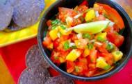 سلطة الطماطم بالمانجو سلطة رجيم لذيذه