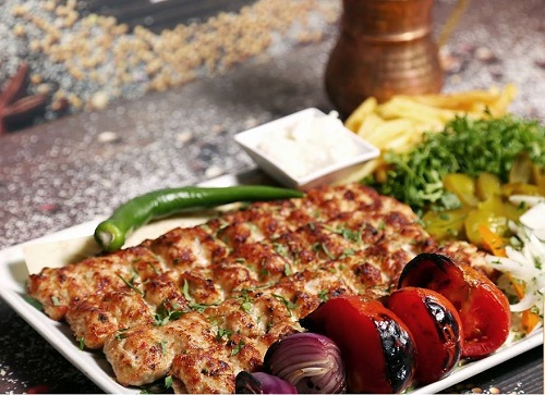 كباب الدجاج اللبناني