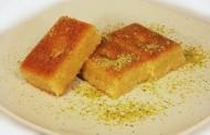 طريقة عمل النمورة اللبنانية باللبن