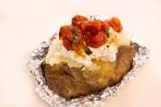 بطاطس محشية بالجبن الريكوتا وصفة شهية بنكهة غنية لكل وقت