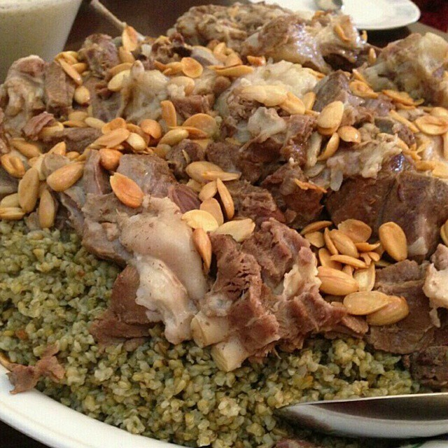 فريكة باللحم على الطريقة اللبنانية الاصلية