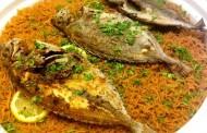طريقة عمل سمك زبيدي مع الارز