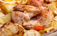 صينية بطاطس ودجاج بالفرن على الطريقة اليمنية