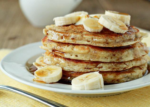 بان كيك الموز بدون طحين
