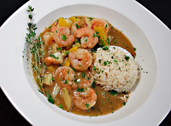 طريقة تحضير ارز بالربيان والخضار كطبق جانبي او اساسي