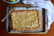 طريقة عمل تارت التفاح الفرنسية سهلة