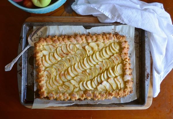 تارت التفاح الفرنسية