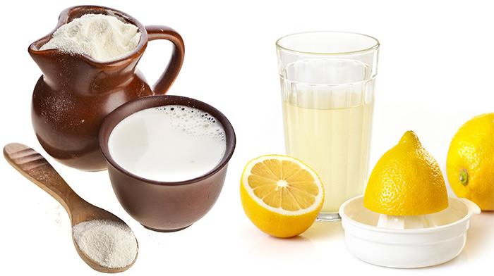 ماسك الليمون للبشرة الدهنية