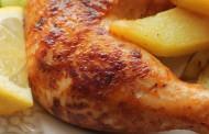 طريقة عمل دجاج بالليمون والثوم