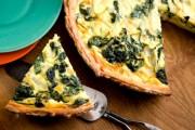 طريقة عمل فطيرة سبانخ بالجبنة