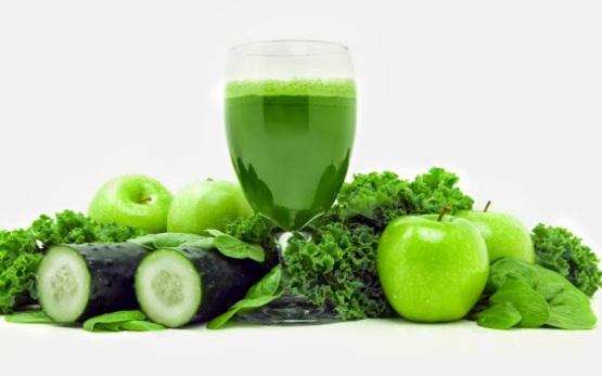 العصير الأخضر الخارق لتنظيف الجسم من السموم