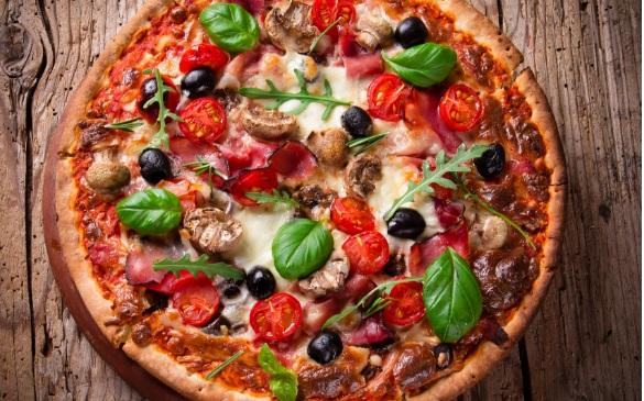 بيتزا بدون بيض