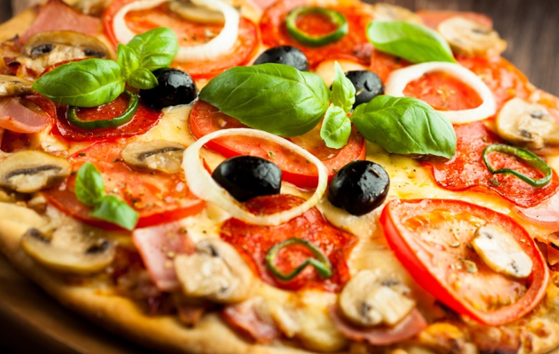عجينة بيتزا بدون زيت