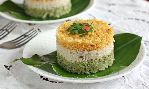طريقة عمل الأرز الملون بالزنجبيل