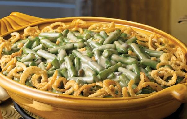 طريقة عمل صينية فاصوليا بالفرن خضراء