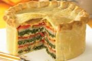 طريقة عمل فطيرة السبانخ باللحم المفروم والجبن