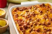 طريقة عمل لزانيا باللحم المفروم والجبن