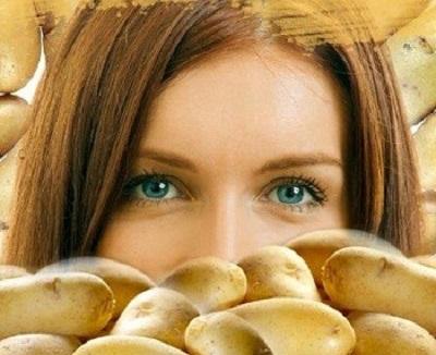 ماسكات البطاطس