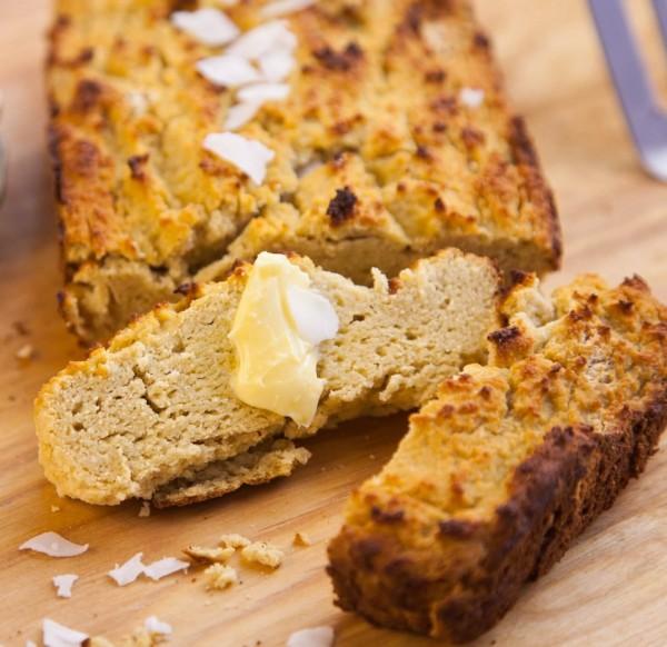 خبز دقيق جوز الهند طريقة التحضير الاصلية