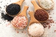 انواع ملح الطعام واستخداماته