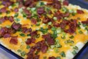 بطاطس مهروسة بالجبن بالفرن طريقة التحضير