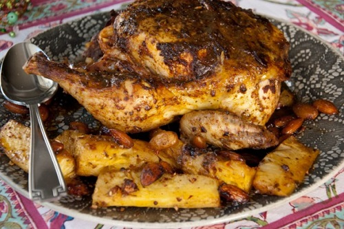 وصفة دجاج بالكمون هندية سهلة للغداء