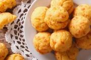 طريقة عمل كرات العجين بالجبن الفرنسية بالفرن
