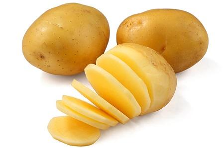 ماسك البطاطس لتبييض البشرة