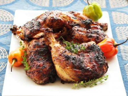 دجاج مشوي بالزنجبيل
