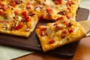 طريقة عمل بيتزا الدجاج بيتزا هت في المنزل