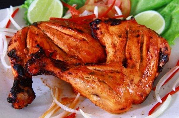 دجاج تكا بالفرن