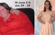 فتاة تفقد وزنها بسرعة خيالية وفاء لخطيبها