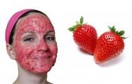 ماسك الفراولة للبشرة الدهنية و لتفتيح الوجه