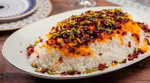طريقة عمل ارز بالزرشك