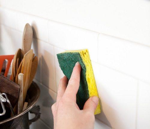 تنظيف السيراميك من الدهون