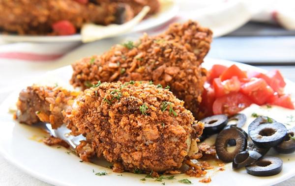 طريقة عمل تاكو الدجاج كرسبي