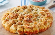 طريقة عمل خبز بالجبن بالفرن