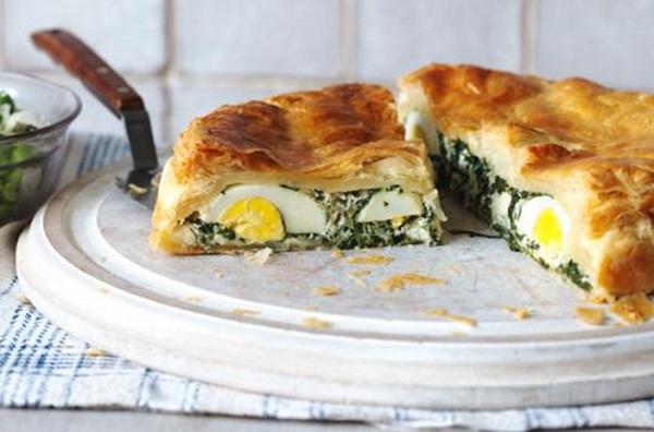 فطيرة البيض والجبن