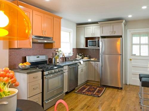 طريقة ترتيب المطبخ الصغير ليبدو كبير