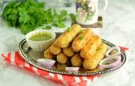 طريقة عمل اصابع البطاطس باللحم المفروم
