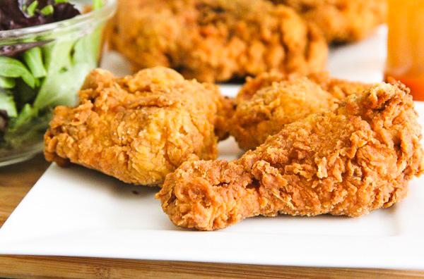 تتبيل الدجاج للقلي