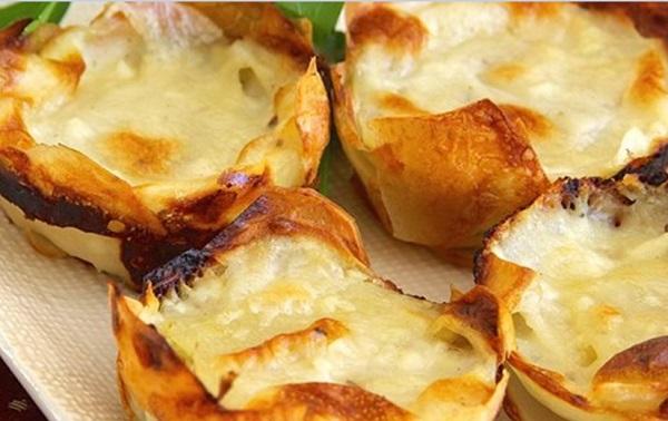 وصفات غراتان البطاطا بالجبن السهلة