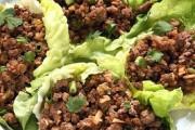 طريقة عمل لحم الخس الصيني