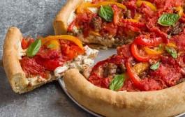 طريقة عمل بيتزا شيكاغو