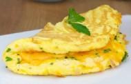 طريقة عمل بيض اومليت بالجبن