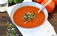 طريقة عمل شوربة طماطم سهلة