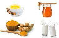 ما هي فوائد الحليب والكركم والعسل ؟