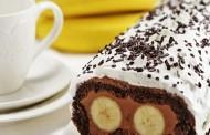 طريقة عمل كيكة الموز بالشوكولاته